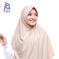 Beria XL - Bergo Kaos Jilbab Afra Size XL
