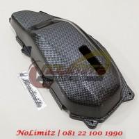 Cover / Tutup Filter Udara Carbon Honda Vario 125 / 150 & PCX 150