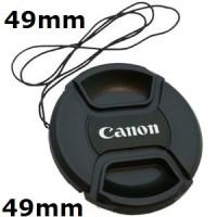 Tutup Lensa Lenscap Canon 49mm