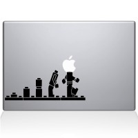 Decal Sticker Macbook Apple Lego Evolusi Game Stiker Laptop