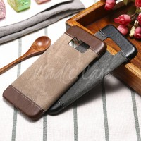 Jeans Pattern Leather Hardcase Casing Samsung Galaxy S8 & S8 Plus Case