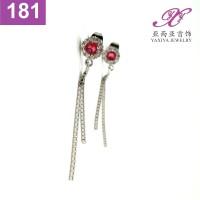 Anting Tusuk Permata Emas putih Perhiasan imitasi Yaxiya Jewelry 181