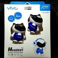 HEADSET / HEADPHONE BONEKA VIVO STEREO BIG BASS