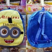 Tas Anak Minion/ Tas Ransel / Tas Sekolah Anak/ Tas Boneka