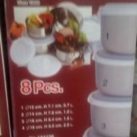 Tempat Penyimpanan Makanan ZEBRA Thailand ( isi 4 set dgn ukuran beda)