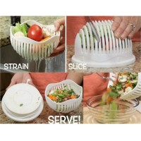 Alat Pemotong  Salad Cutter Bowl Salad / Mangkok Pemotong Salad Buah