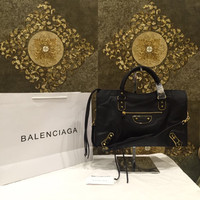Bag Balenciaga City Edge GHW 38cm black