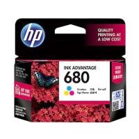 Tinta HP 680 Colour Ink Cartridge - For 2135, 3635 / Color Original