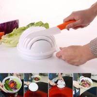 Cutter Bowl Salad / Mangkok Pemotong Salad Sayur dan Buah Higienis