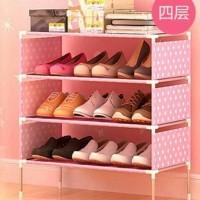 Rak Sepatu Portable 4 Tingkat