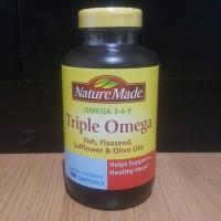 TRIPLE OMEGA 369 - NATURE MADE USA