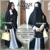 aisyah syari fit to XL free cadar ori by nava hijab