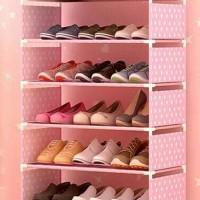 Rak Sepatu Portable 6 Tingkat