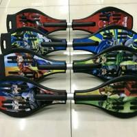 wafeboard snakeboard ripstick skateboard roket swayboard murah