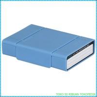 Box tempat Hardisk kotak Orico 1-Bay 3.5 HDD Protection Case Blu i2975