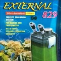 aquarium kolam ikan filter external canister jebo 829