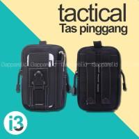 Tas Pinggang Tactical / Tempat Hp , Vape , Power Bank, Backpack Multi