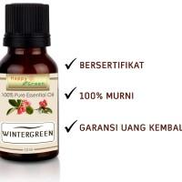 Happy Green Wintergreen Essential Oil (10 ml) - Minyak Gandapura Murni