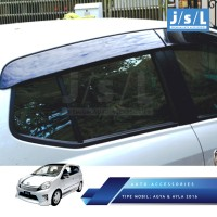 Toyota Agya Talang Air JSL/Side Visor Injection/Aksesoris Agya