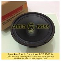 "Speaker ACR 8"" Fabulous 2050 /ACR 8 inch Fabulous / ACR 8""Fabulus 2050"