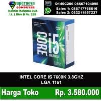 CORE I5 7600K SOCKET 1151 PLUS FAN INTEL
