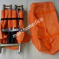 Tandu Lipat 4 GEA+ Shieldbelt Sabuk pengaman + Tas Scop darurat P3K