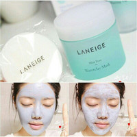 LANEIGE Mini Pore Water Clay Mask 70ml (Pengecil pori-pori)