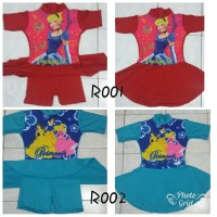 Baju renang Rok gambar anak tanggung SD kelas 1-5