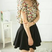 baju atasan blouse wanita import korea
