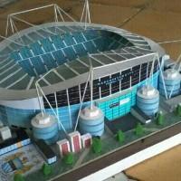 Miniatur Stadion Etihad Manchester City (Big Size)