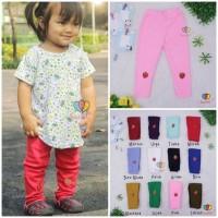 Legging Stawberry uk Bayi - 3 th / Celana Panjang Anak Leging Anak