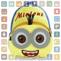 Tas Sekolah Anak Karakter Kartun Minion - Yellow`AM0R21-