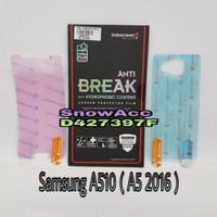 Anti Gores Indoscreen Anti Break Samsung A510 /A5 2016 (free belakang)