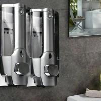 Double dispenser sabun cair tx 08-2(6602)model baru