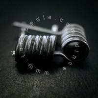 Alien Fused Clapton Nichrome Ni80 - Prebuilt Coil Kawat Vape Vapor RDA