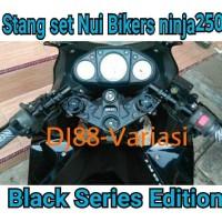 stang jepit set nui bikers ninja 250r ninja 250 fi cover segitiga tutu