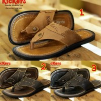 SANDAL PRIA KICKERS MIDDLE CONCEPT LEATHER CASUAL TRENDY