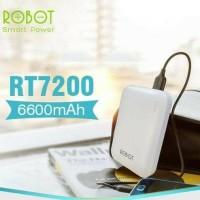 Powerbank Robot RT7200 / Power Bank 6600mAh 2 USB
