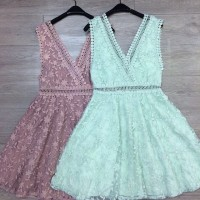 Lily Casual Dress Tosca/ Pink M L Import