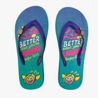 SENDAL SURFER GIRL ORIGINAL - LIFE'S BETTER WHEN YOURE LAUGHING TOSCA
