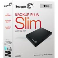 Harddisk External Seagate BackUp Plus Slim 1TB - Black