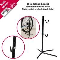 Bike Stand Display atau Standar Sepeda Lantai Hanger Hook