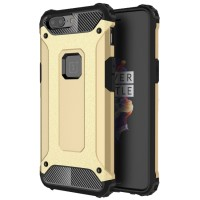 SS7512 - CARBON ARMOR DEFENDER CASE ONEPLUS 5 GOLD