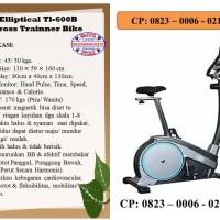 alat fitness/Sepeda Statis Elliptical Tl-600B Cross T.B/alat olahraga