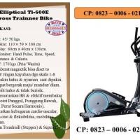 alat fitness/Sepeda Statis Elliptical Tl-600E Cross T. B/alat olahraga