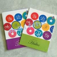 Buku Tulis Halus Sinar Dunia (SIDU) / Buku Garis Tiga