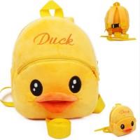 Tas Pengawas Anak Batita Anti Hilang (Duck/Velvet)
