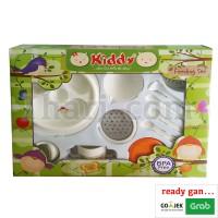 Feeding Set + Baby Food Maker / Peralatan Makan Bayi GB020