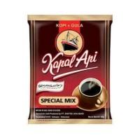Kopi Kapal Api Special Mix, kopi+gula