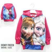 Jaket Anak Perempuan Frozen Printing